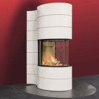 Spartherm Magic Fireplace Round Insert | Spartherm ...