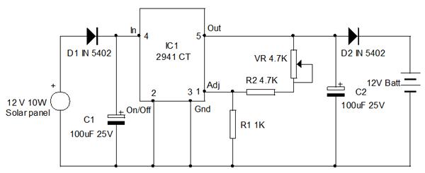 solar battery 12v charger