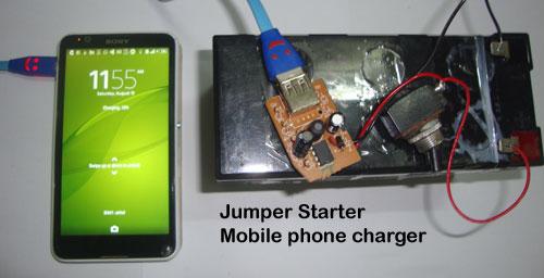 wire diagram 12v jumpbox car jump starter start up project