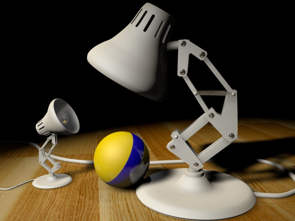 Pixar Desk Lamp Sound In 3d Ready Set Animate