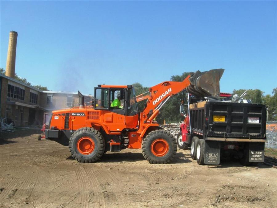 Gibson Machinery Matches Ace Demo With Doosan, Doppstadt