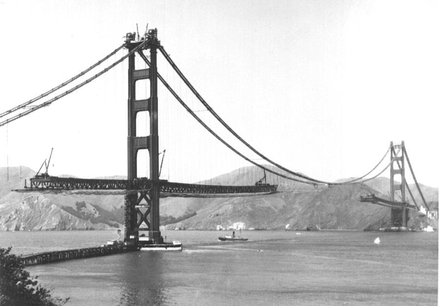 The Golden Gate \u0027The Bridge That Couldn\u0027t Be Built\u0027 Construction