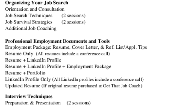 Job Search, Employment Package, Interview Prep and LinkedIn Profiles - how to search resumes on linkedin