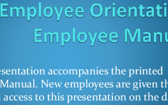 New Employee Orientation Course by Michele (Mickey) Perry in