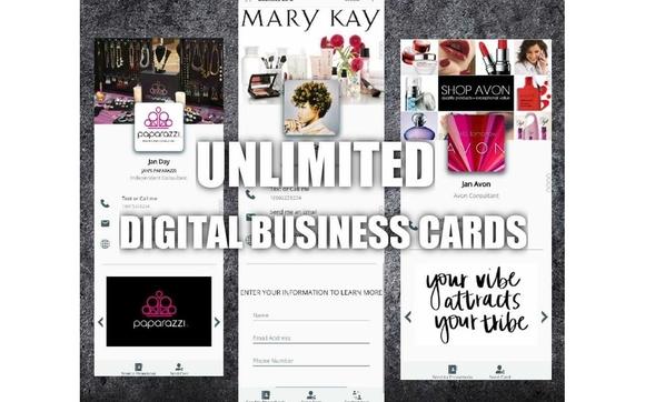 Unlimited Digital Business Cards by My Gem Biz in Broken Arrow, OK