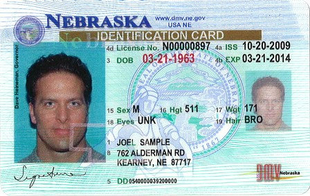 State Identification Card (ID) Nebraska Department of Motor Vehicles