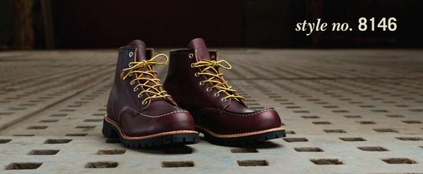 Lace Up Work Boots Style No 8146 By Red Wing Shoes