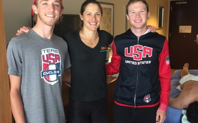 Working with the USA Cycling Team!