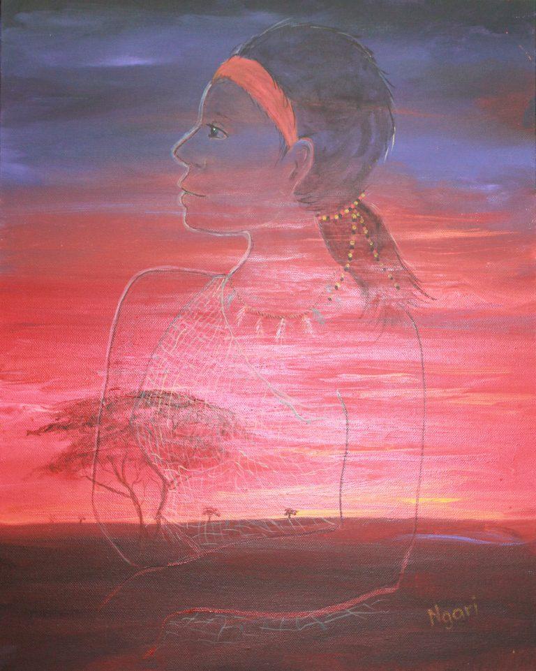 Aboriginal Woman Strong com