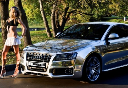 Nice Girl Wallpaper Desktop Audi S5 Audi Amp Cars Background Wallpapers On Desktop