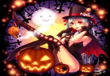 Bat Girl Wallpapers Halloween Night Other Amp Anime Background Wallpapers On