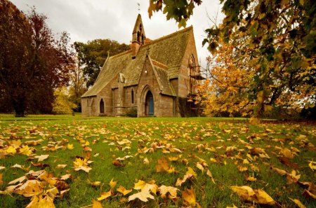 Fresh New Fall Hd Wallpapers Church In Fall Other Amp Architecture Background