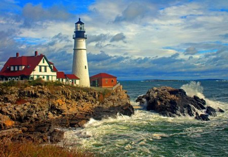 Portland Oregon Fall Had Wallpaper New England Lighthouse Lighthouses Amp Architecture