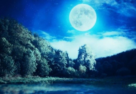 Animated Lonely Girl Wallpapers Blue Lake Lakes Amp Nature Background Wallpapers On