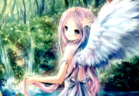Baby Boy N Girl Wallpapers Forest Angel Other Amp Anime Background Wallpapers On