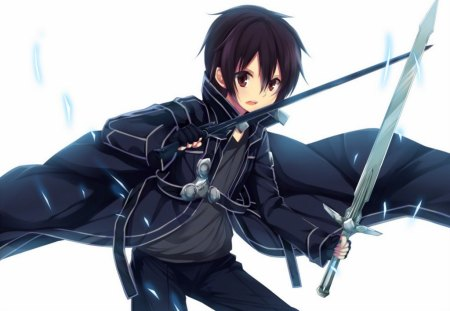 Cute Girl N Boy Wallpapers Kirito Handsome Anime Guys Wallpapers And Images