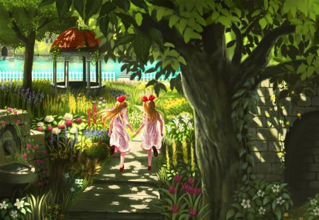 Cute Kid Wallpapers Free Download Flower Garden Other Amp Anime Background Wallpapers On