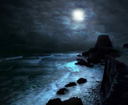 Falling In Love Hd Wallpapers Moonlight Beaches Amp Nature Background Wallpapers On