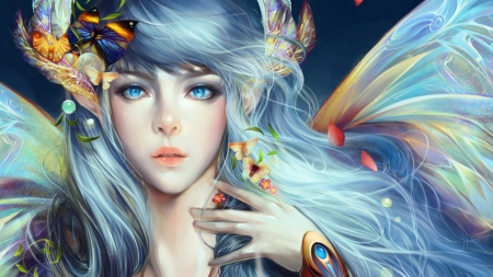 Cute Bff Wallpapers Beauty Fairy Fantasy Amp Abstract Background Wallpapers On