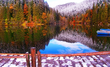 Late Fall Wallpaper Nature Between Autumn And Winter Mountains Amp Nature Background