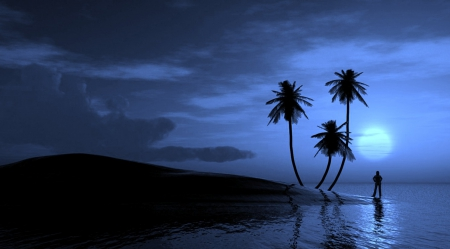 Falling Water Wallpaper 1080p Peaceful Night Beaches Amp Nature Background Wallpapers On