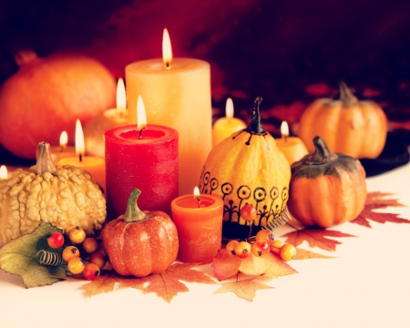 Fall Wallpaper Backgrounds Pumpkins Thanksgiving Candles Photography Amp Abstract Background