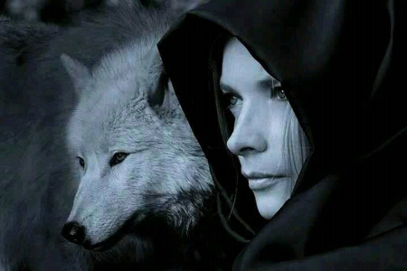Gothic Girl Wallpaper Free Wolf Fantasy Other Amp Animals Background Wallpapers On
