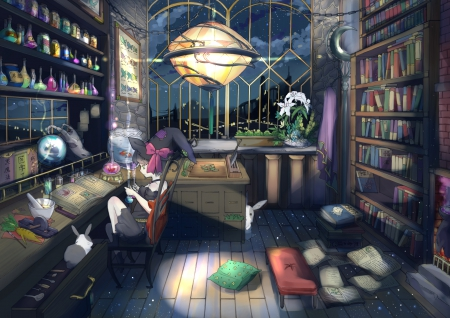 Gamer Girl Spaceship Wallpaper Witch Room Other Amp Anime Background Wallpapers On