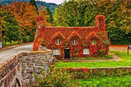 Fresh New Fall Hd Wallpapers Autumn House Houses Amp Architecture Background Wallpapers