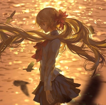 Cute Wallpapers For Bff For 5 Sad Sunset Other Amp Anime Background Wallpapers On