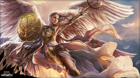 Big 3d Wallpapers For Desktop Linvala The Preserver Mtg Angels Wallpapers And Images