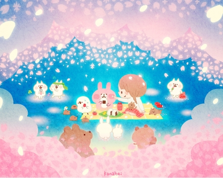Cute Wallpapers Com Kanahei Other Amp Anime Background Wallpapers On Desktop