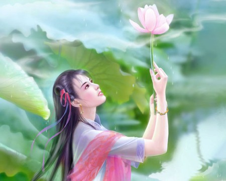Nice N Cute Wallpapers Lotus Other Amp Anime Background Wallpapers On Desktop