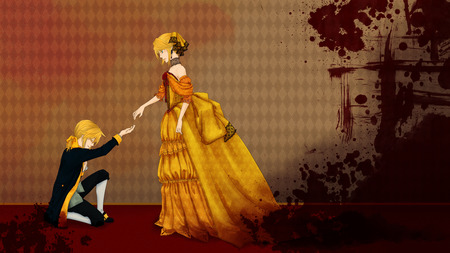 Cute Girl N Boy Wallpapers The Queen And Her Servant Other Amp Anime Background