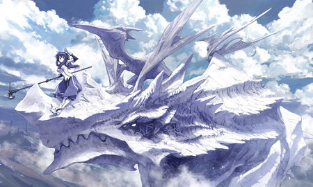 Futurist Anime Girl Wallpaper Dragon Knight Other Amp Anime Background Wallpapers On