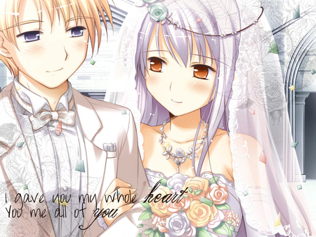 Girl N Boy Kiss Wallpaper Wedding Couple Other Amp Anime Background Wallpapers On
