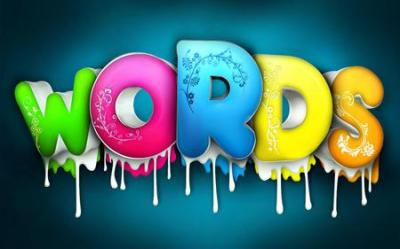 Coloured Letters in Word - 3D and CG & Abstract Background Wallpapers on Desktop Nexus (Image ...