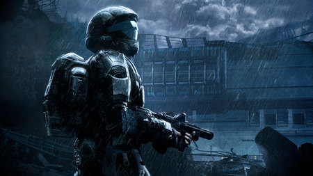 Halo Reach 3d Wallpaper Pc Halo 3 Odst Halo Amp Video Games Background Wallpapers On