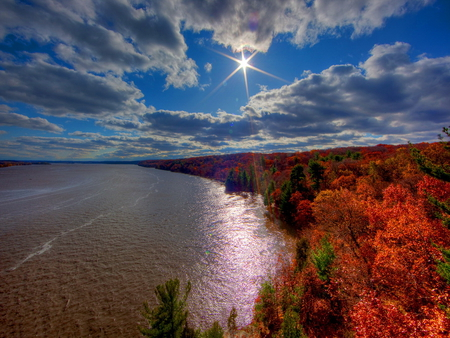 Free Full Screen Fall Wallpaper Bright Star Beaches Amp Nature Background Wallpapers On