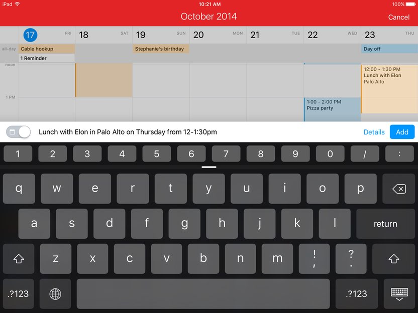 View Multiple Google Calendars On Ipad Top Calendar Apps For Iphone Ipad Iphone Calendars Flexibits Fantastical 2 For Ipad Calendars And