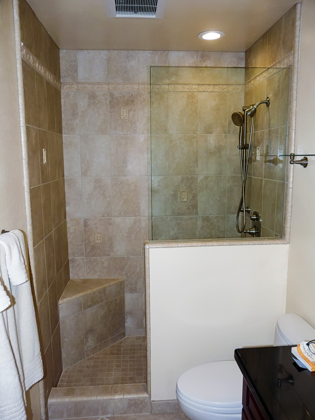 How To Finish Kitchen Cabinets Stain Combo Guest Bath/pool/powder Room - Danilo Nesovic