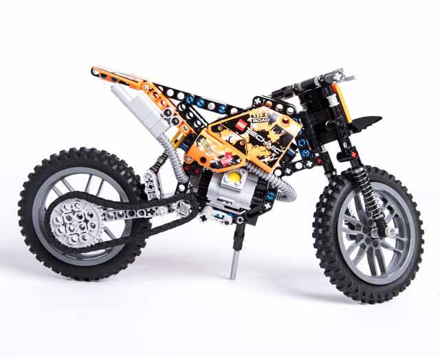 LEGO Technic Moto Cross Bike 42007 - Pley Buy or Rent the coolest