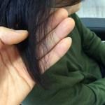 縮毛矯正でチリチリのビビリ毛から9ヶ月(岡山)