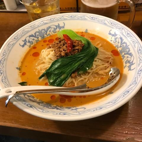 中国ラーメン揚州商人の『冷しタンタン麺』