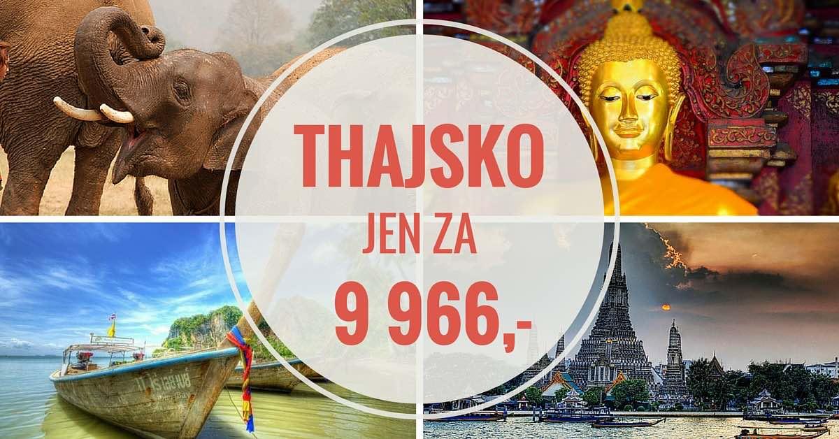 Letenky Thajsko od 9 966 Kč – Leden 2016