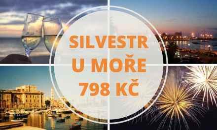 Silvestr u moře – letenka Praha – Bari za 798