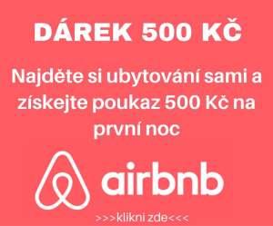Poukaz na AirBNB