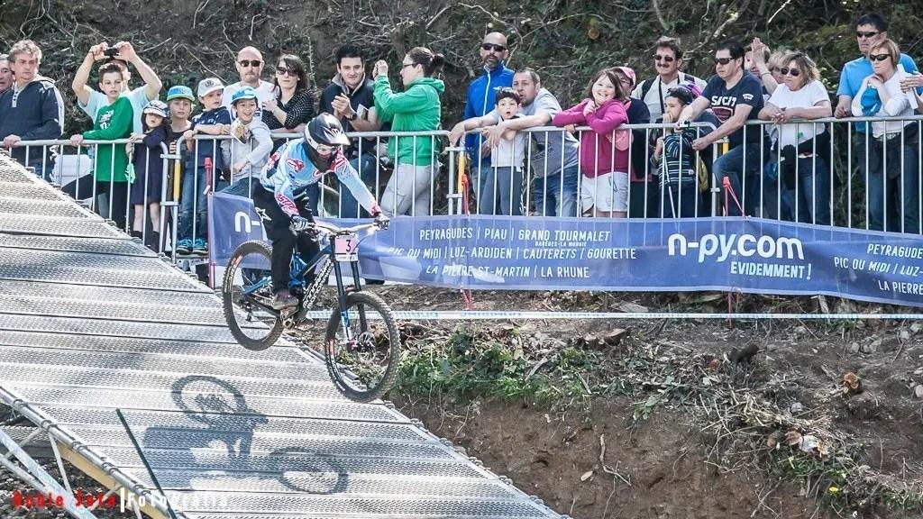 Emmeline Ragot, World Cup UCI MTB Lourdes 2015