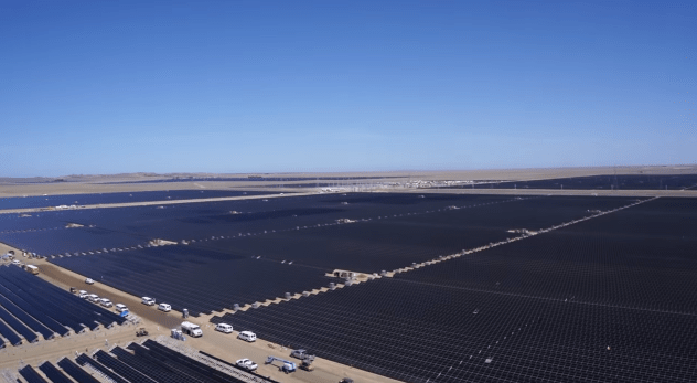 topaz solar farm energy