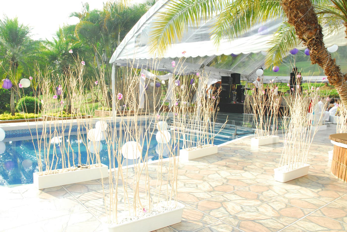 Arreglos De Piscinas Decoracion Bodas Al Aire Libre Interesting Ideas Para